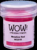 WG01 Red - Jar Size:15ml Jar
