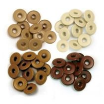 WIDE EYELETS ALUMINIUM BROWN