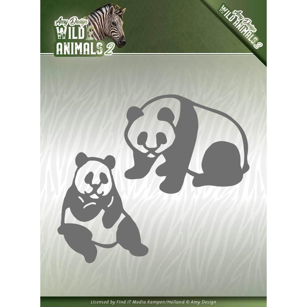 WILD ANIMALS 2 CUTTING DIE - Panda Bear