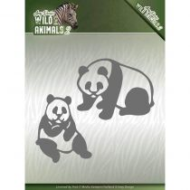 WILD ANIMALS 2 CUTTING DIE - Panda Bear