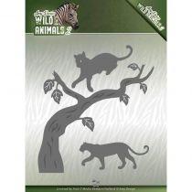 WILD ANIMALS 2 CUTTING DIE - Panther