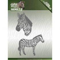 WILD ANIMALS 2 CUTTING DIE - Zebra