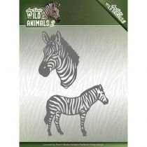 WILD ANIMALS 2 CUTTING DIE - Zebra