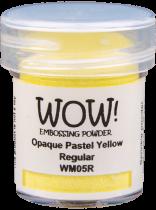 WM05 Pastel Yellow - Jar Size:15ml Jar