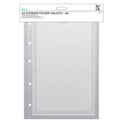 Xcut A4 Pochettes Classeur De Rangement (6pcs) - A4