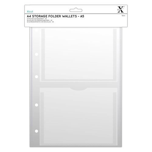 Xcut A4 Pochettes Classeur De Rangement (6pcs) - A5