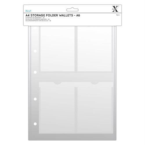 Xcut A4 Pochettes Classeur De Rangement (6pcs) - A6